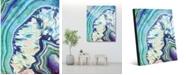 "Creative Gallery Crystal Geode Zircon Abstract 16"" x 20"" Acrylic Wall Art Print"