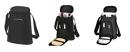 Picnic At Ascot - 2 Bottle Wine Cooler Tote with Cheese Board, Knife, Corkscrew