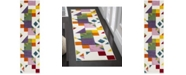 """Safavieh Hollywood Ivory and Rose 2'2"""" x 8' Runner Area Rug"""