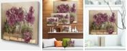 "Design Art Designart Bouquet Of Pink Peonies Floral Art Canvas Print - 20"" X 12"""