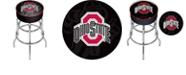 Trademark Global Ohio State Shadow Brutus Padded Bar Stool