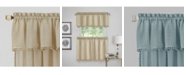 Achim Wallace Curtain Tier and Valance Set, 58x36