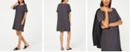 Eileen Fisher Printed Shift TENCEL™ Dress, Regular & Petite