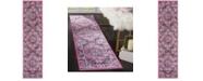 Safavieh Skyler Pink and Ivory 2' x 8' Runner Area Rug
