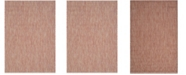 """Safavieh Courtyard Red and Beige 5'3"""" x 7'7"""" Area Rug"""
