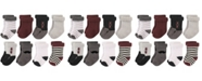 Hudson Baby Rolled Cuff Crew Socks, 8-Pack, 0-24 Months