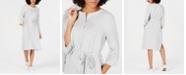 Eileen Fisher Organic Linen Belted Shirtdress