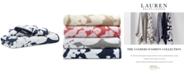 """Lauren Ralph Lauren Sanders  Antimicrobial Cotton Floral 30"""" x 56"""" Bath Towel"""