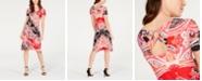 John Paul Richard Petite Open-Back A-Line Dress