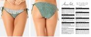 Anne Cole Studio Days Eye Ditsy Printed Side-Tie Bikini Bottoms