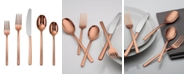 Cambridge Beacon Copper Mirror 20-Piece Flatware Set, Service for 4
