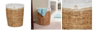Household Essentials Wicker Basket Laundry Hamper with Liner