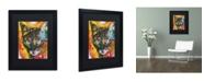 """Trademark Global Dean Russo 'Intent' Matted Framed Art - 16"""" x 20"""" x 0.5"""""""