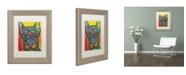"""Trademark Global Dean Russo '17' Matted Framed Art - 14"""" x 11"""" x 0.5"""""""