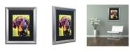 """Trademark Global Dean Russo 'German Short Hair Pointer' Matted Framed Art - 20"""" x 16"""" x 0.5"""""""