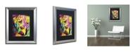 "Trademark Global Dean Russo 'Mastiff II' Matted Framed Art - 20"" x 16"" x 0.5"""