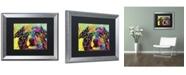 "Trademark Global Dean Russo 'Straight Aussie' Matted Framed Art - 20"" x 16"" x 0.5"""