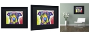 """Trademark Global Dean Russo 'Love A Bull This Years Love 2013 Part 1' Matted Framed Art - 16"""" x 20"""" x 0.5"""""""