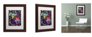 """Trademark Global Dean Russo 'Companion PIT' Matted Framed Art - 14"""" x 11"""" x 0.5"""""""