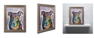 "Trademark Global Dean Russo 'Luv Me' Ornate Framed Art - 14"" x 11"" x 0.5"""