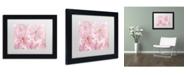 "Trademark Global Cora Niele 'Pink Cherry Blossom' Matted Framed Art - 11"" x 14"" x 0.5"""