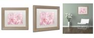"Trademark Global Cora Niele 'Pink Cherry Blossom' Matted Framed Art - 14"" x 11"" x 0.5"""