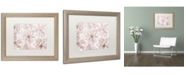 "Trademark Global Cora Niele 'Translucent Cherry Blossom' Matted Framed Art - 20"" x 16"" x 0.5"""