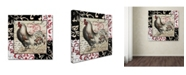 "Trademark Global Color Bakery 'Europa I' Canvas Art - 35"" x 2"" x 35"""