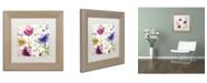 "Trademark Global Color Bakery 'Summer Diary I' Matted Framed Art - 11"" x 0.5"" x 11"""