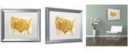 "Trademark Global Color Bakery 'American Dream IV' Matted Framed Art - 20"" x 0.5"" x 16"""