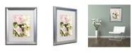 "Trademark Global Color Bakery 'Flora Bella' Matted Framed Art - 16"" x 0.5"" x 20"""