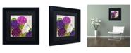 "Trademark Global Color Bakery 'Gaia II' Matted Framed Art - 11"" x 11"" x 0.5"""