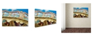 "Trademark Global Cora Niele 'Carousel de Montmartre II' Canvas Art - 19"" x 12"" x 2"""
