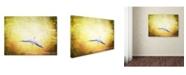 "Trademark Global Jai Johnson 'Blue Heron In The Light' Canvas Art - 19"" x 14"" x 2"""