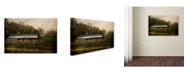 "Trademark Global Jai Johnson 'A Barn For The Hay' Canvas Art - 24"" x 16"" x 2"""