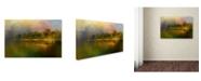 "Trademark Global Jai Johnson 'Rainbow of Color At The River' Canvas Art - 19"" x 12"" x 2"""