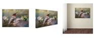 "Trademark Global Jai Johnson 'Garden Guardian' Canvas Art - 24"" x 16"" x 2"""