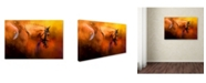 "Trademark Global Jai Johnson 'Leaving The Show Ring' Canvas Art - 32"" x 22"" x 2"""