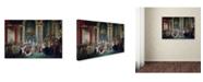"Trademark Global David 'Coronation Of Napoleon And Josephine' Canvas Art - 19"" x 12"" x 2"""
