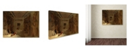 "Trademark Global David Roberts 'Great Temple At Abu Simbel Egypt' Canvas Art - 19"" x 14"" x 2"""