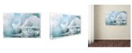 "Trademark Global Cora Niele 'Adventure Is Waiting' Canvas Art - 47"" x 30"" x 2"""