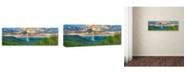 "Trademark Global Doug Cavanah 'Blessings Of Spring' Canvas Art - 19"" x 6"" x 2"""