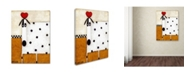 "Trademark Global Daniel Patrick Kessler 'Love Dog' Canvas Art - 32"" x 24"" x 2"""