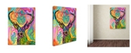 """Trademark Global Dean Russo 'Stag' Canvas Art - 19"""" x 14"""" x 2"""""""