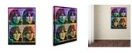 "Trademark Global Dean Russo 'George' Canvas Art - 24"" x 18"" x 2"""