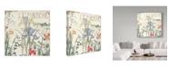 "Trademark Global Color Bakery 'Mirabelle IV' Canvas Art - 14"" x 14"" x 2"""