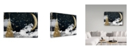 "Trademark Global Color Bakery 'Cloud Cities New York' Canvas Art - 19"" x 14"" x 2"""