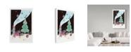 "Trademark Global Irina Trzaskos Studio 'Christmas Card II' Canvas Art - 19"" x 12"" x 2"""