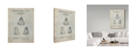 "Trademark Global Cole Borders 'Puppet' Canvas Art - 47"" x 35"" x 2"""