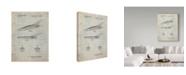 "Trademark Innovations Cole Borders 'Fantasy Car 1' Canvas Art - 19"" x 14"" x 2"""